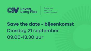 Save the date: bijeenkomst op 21 september